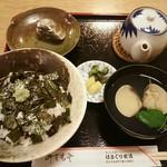 はまぐり食道 - はまぐりセット2500円(税込)