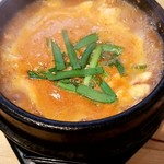韓国料理 ウリジップ - スントブチゲ