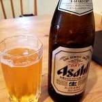韓国料理 ウリジップ - 瓶ビール