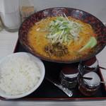 麺屋 大申 - 担々麺(まご)大盛&ライス