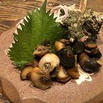 山本炭焼店 - 《サザエ醤油煮》税別490円