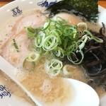 博多ラーメンセンター - すっきりしたスープの仕上がり