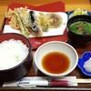 天笠 - 料理写真:野菜天定食 930円
