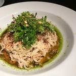 87109726 - 花山椒の坦々麺。季節限定。花山椒の香りが最高。