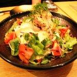 かわず - 真鯛とおぼろ豆腐のサラダ 850円