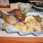 8711558 - 襟裳岬産つぶ貝の刺身