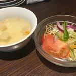 87111536 - スープ、サラダ