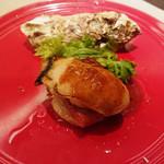 87111936 - 牡蠣とベーコン、山芋ソテー