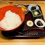87114017 - 鯛茶漬けランチ