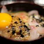 87115507 - 宇和島鯛飯定食 1100円 の鯛刺身