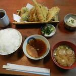たべ天しゃい - 天ぷら定食¥650