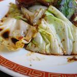 タイガー餃子会館 - 豚キャベツ味噌炒め定食