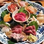 酒の魚 和海 - 刺身和海10点盛り  1,980円