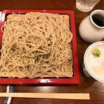 更科藤井 - 料理写真:『ざるそば(大盛り)』様(850円+300円)※逆に小盛りだと-300円。