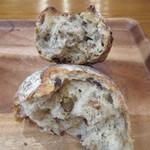 mugi - 2つのパンの断面