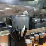 カナキン亭本舗 - 厨房。