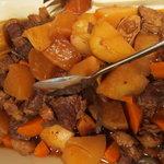 レストラン ピノ - 長崎県産 有機野菜と牛ばら肉の煮込み
