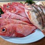 一心水産 - 料理写真:魚は鮮度が命! お任せください!