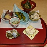 七兵衛や - 料理写真:前菜
