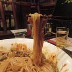 四川厨房 随苑 - 汁なし麻婆麺の麺