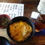 鳥の王様 - 親子丼(小)600円