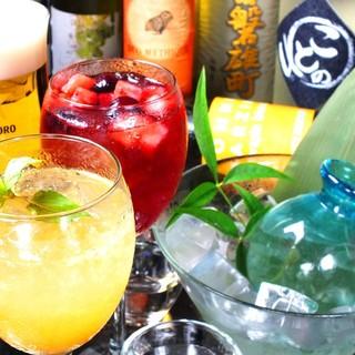 【夏到来】飲み放題メニューが充実!単品飲み放題もあります!!