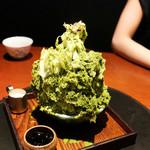 蕃 YORONIKU - 抹茶アイス