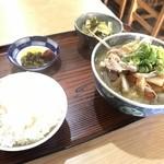 87127542 - 豚汁定食 650yen