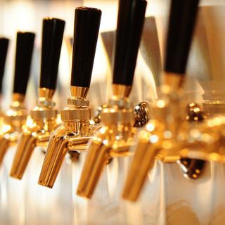 ドラフトビールは8種類!!!!