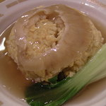 優味彩 - ご飯の中まで濃厚な味が・・・ フカヒレ姿のあんかけ炒飯  1500円