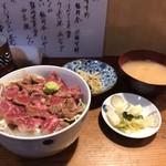 87131133 - 和牛ステーキ丼(950円)