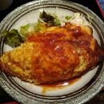 江戸幸 - 主菜のオムレツ