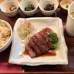 ニジール - 牛ハラミ御膳1200円