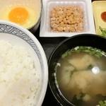 吉野家 - 納豆定食