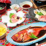網元料理 徳造丸 - 金目鯛彩り三膳