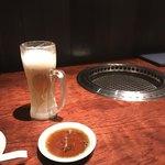 焼肉 肉どうし - 始まりはいつもビール