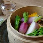 星火 - 季節野菜のわっぱ蒸し