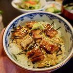 うな瀬 - うな瀬の変わりうな丼ランチ 1660円
