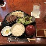 さくら - 国産牛ステーキランチ100g1680円
