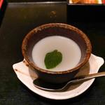 名古屋今井屋本店 - ランチのデザート