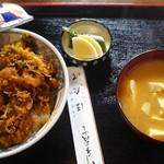 ほたて - かき揚げ丼(760円)