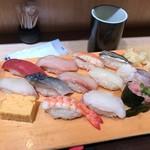 魚がし日本一 - さすがにお腹いっぱい