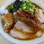 味の大西 - チャーシューワンタンメン 1050円