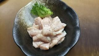 祇をん焼肉 茂  - ミノ(しお)