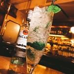 JIGGER BAR HARRY'S N.Y. - 【6月のおすすめカクテル】キウイとバジルのモヒート