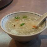 清香園 - かき玉スープ