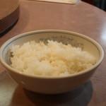 清香園 - ご飯