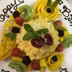 Ristorante IL PRINCIPE - 記念日や誕生日にミモザケーキをご用意しております。