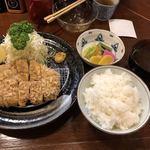 勝漫 - 特ロースかつ定食@2,200円
