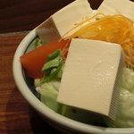 串焼処 鶏太 - トーフさらだ(和風ドレッシング&マヨ)530円